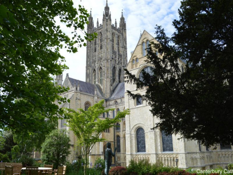 Canterbury Cathedral, Kent. A UNESCO World Heritage Site.