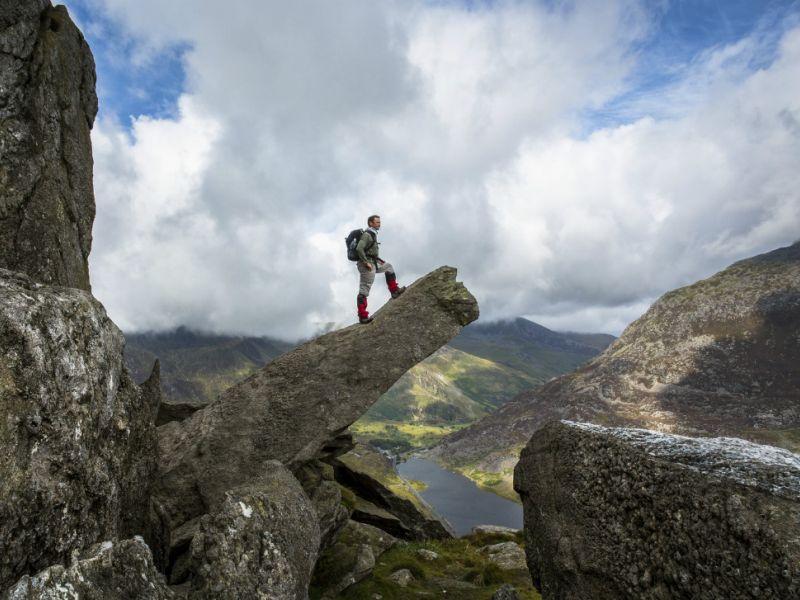 Tryfan, Ogwen Valley, Snowdonia, Wales