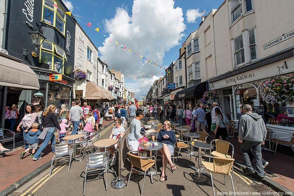 North Laine, Brighton, England