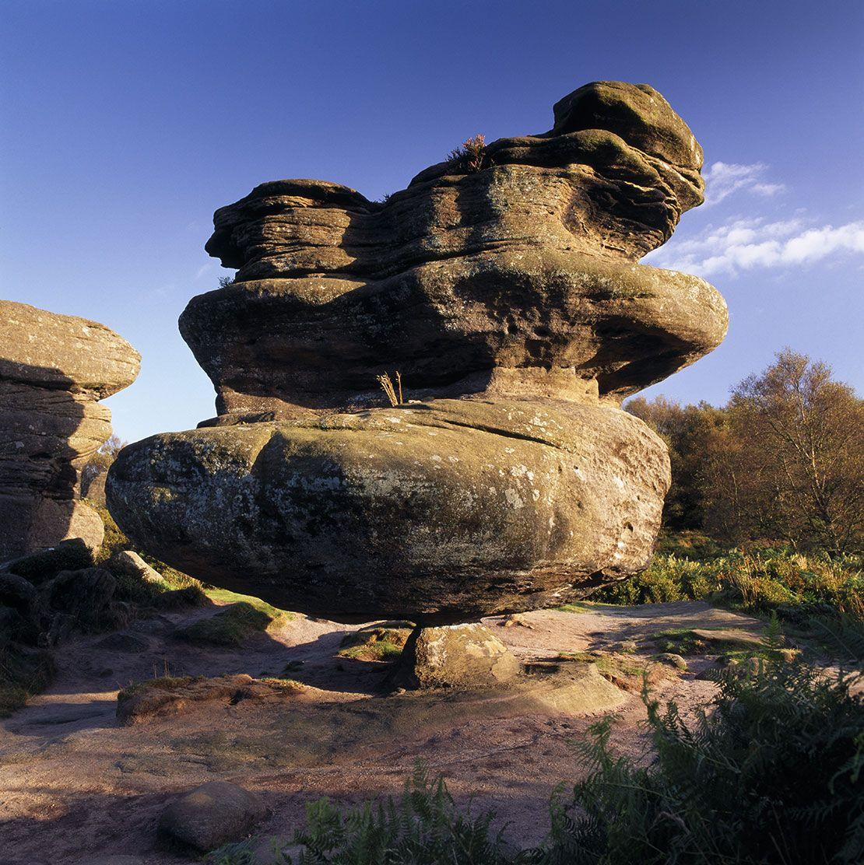 Brimham Rocks, Harrogate, Yorkshire, England