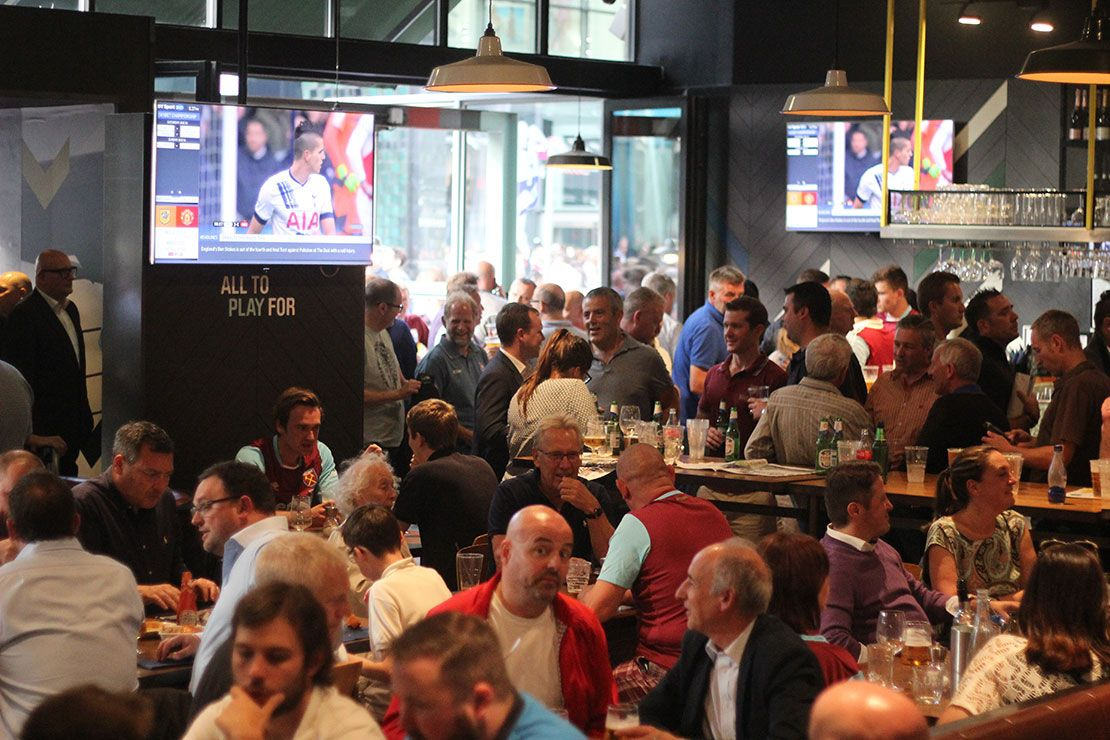 Cafe Football Stratford London