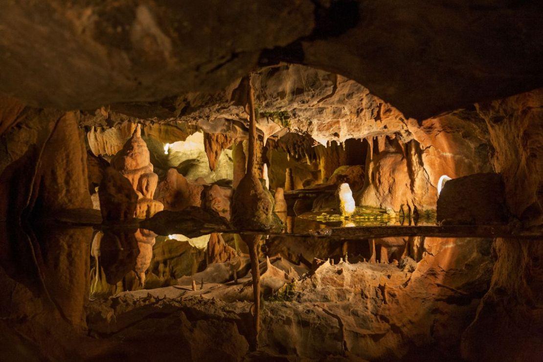Cheddar Cave, Somerset
