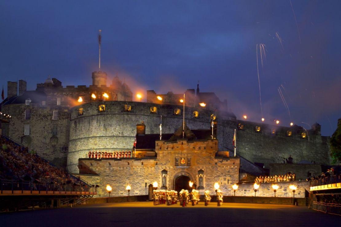 Burgen Und Schlösser In England Schottland Und Wales