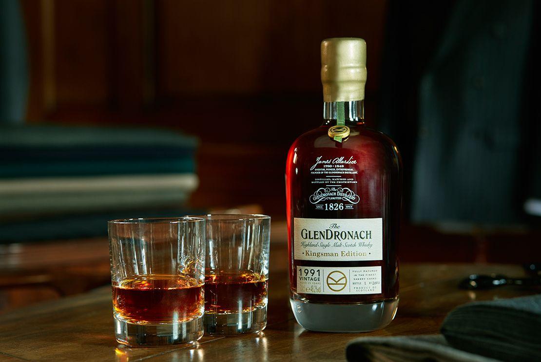 GlenDronach Distillery, Aberdeenshire, Kingsman special edition whisky