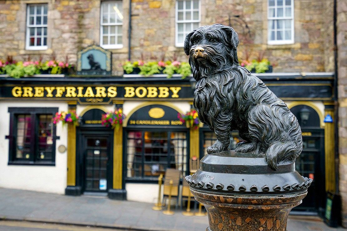 Greyfriars Bobby, Edinburgh, Scotland