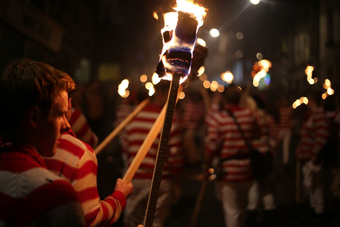Where to experience Guy Fawkes Night in Britain