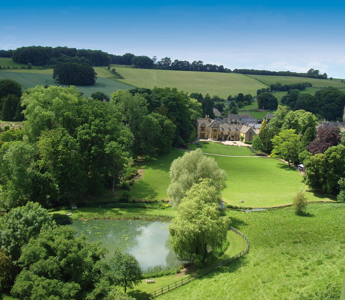 Lords of the Manor hotel, Cotswolds, England