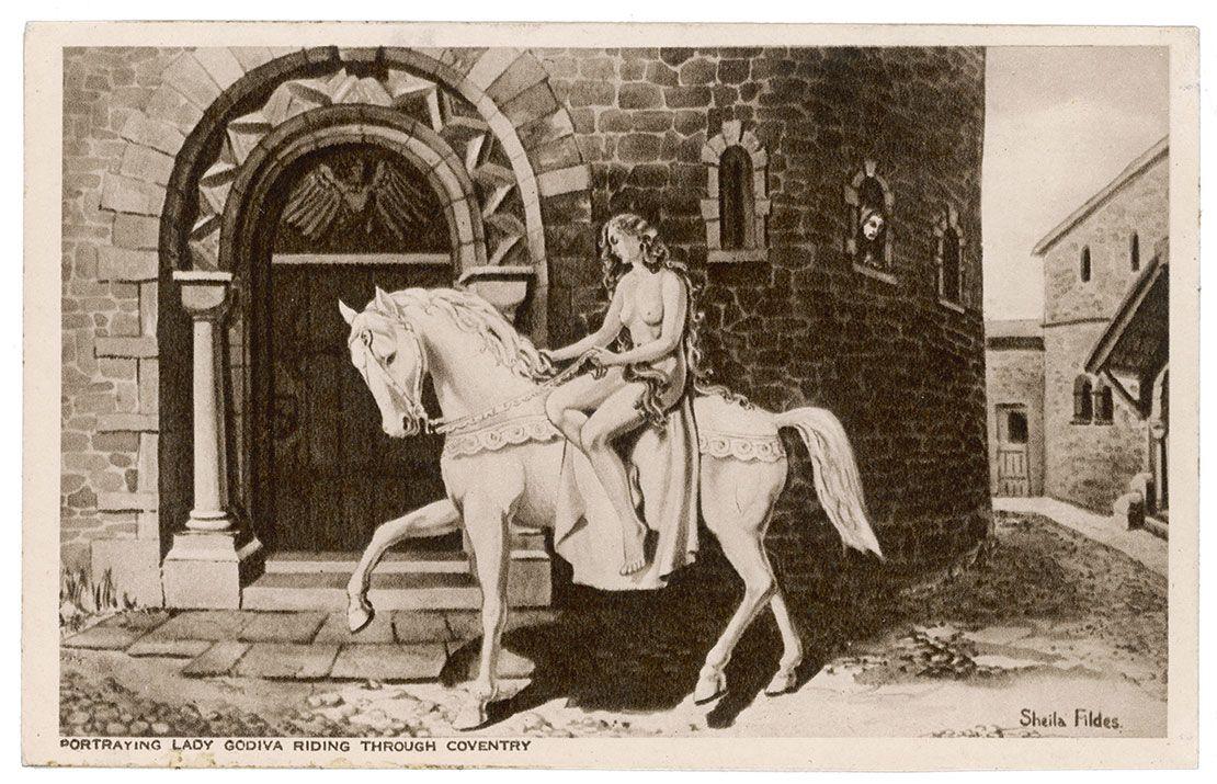 Lady Godiva legend, Coventry, England