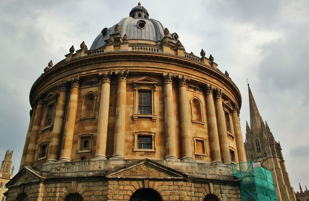 Biblioteca Bodleiana y Camara Radcliffe en Oxford