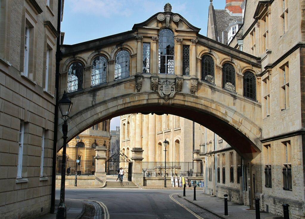 Puente de los suspiros Oxford