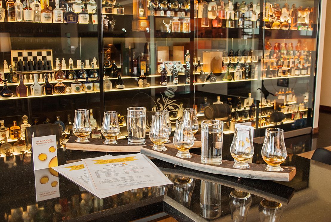 The Scotch Whisky Experience, Edinburgh, Scotland