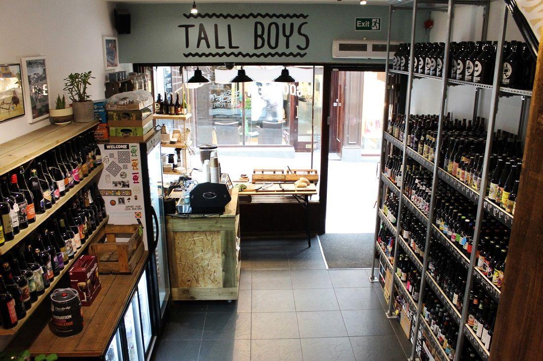 Tall Boys Beer Market in Leeds, from www.tallboysbeermarket.com