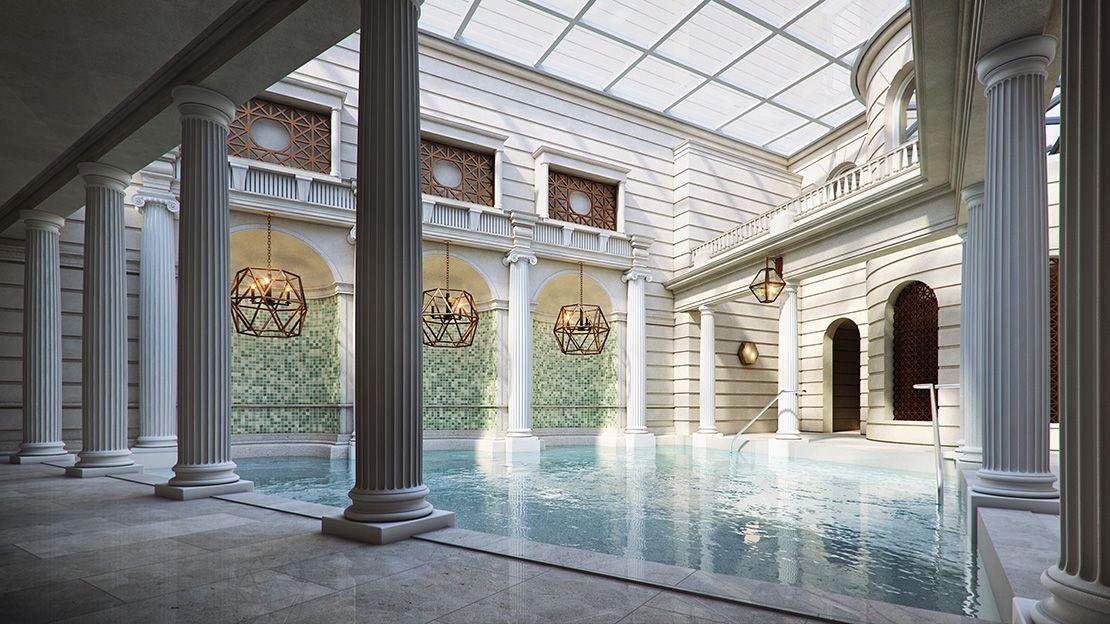 Gainsborough Hotel spa, Bath