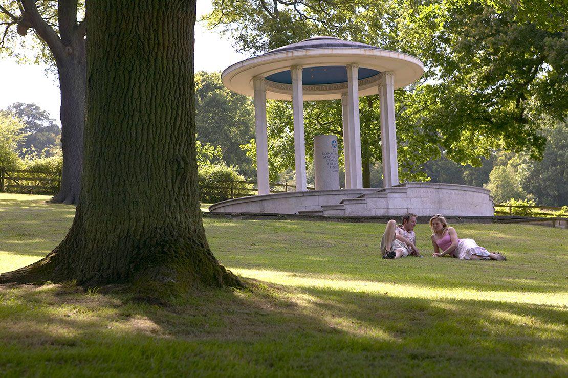 Runnymede Commonwealth War Memorial, Surrey, England