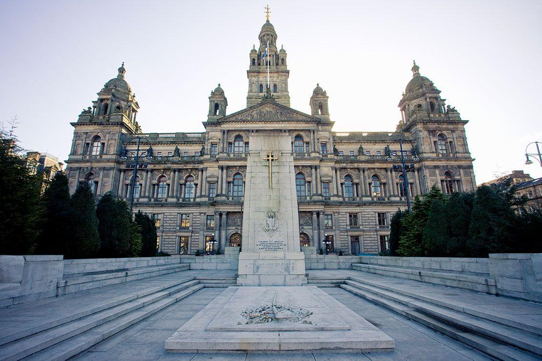 Royal Exchange Square, Glasgow, Scotland