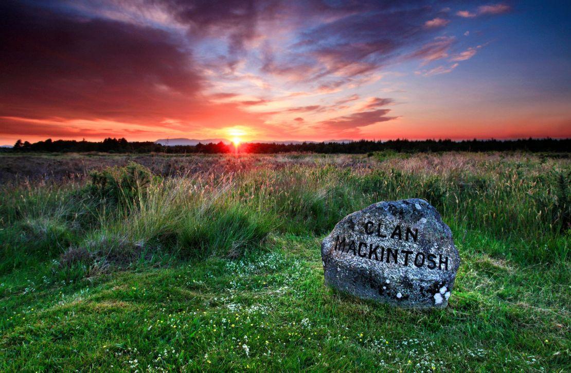 Culloden Battlefield near Inverness, Scotland