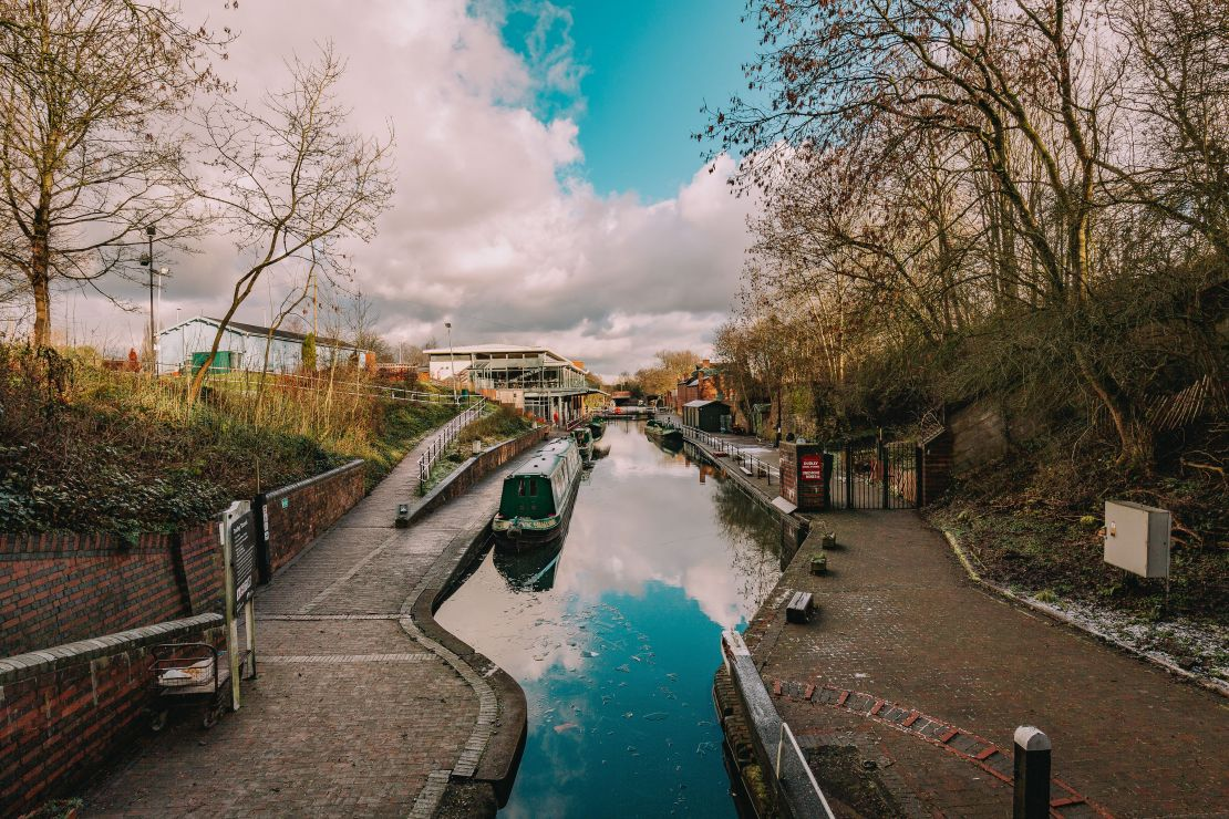 The Dudley Canal, Black Country Living Museum, Dudley. A popular filming location for the hit drama Peaky Blinders.
