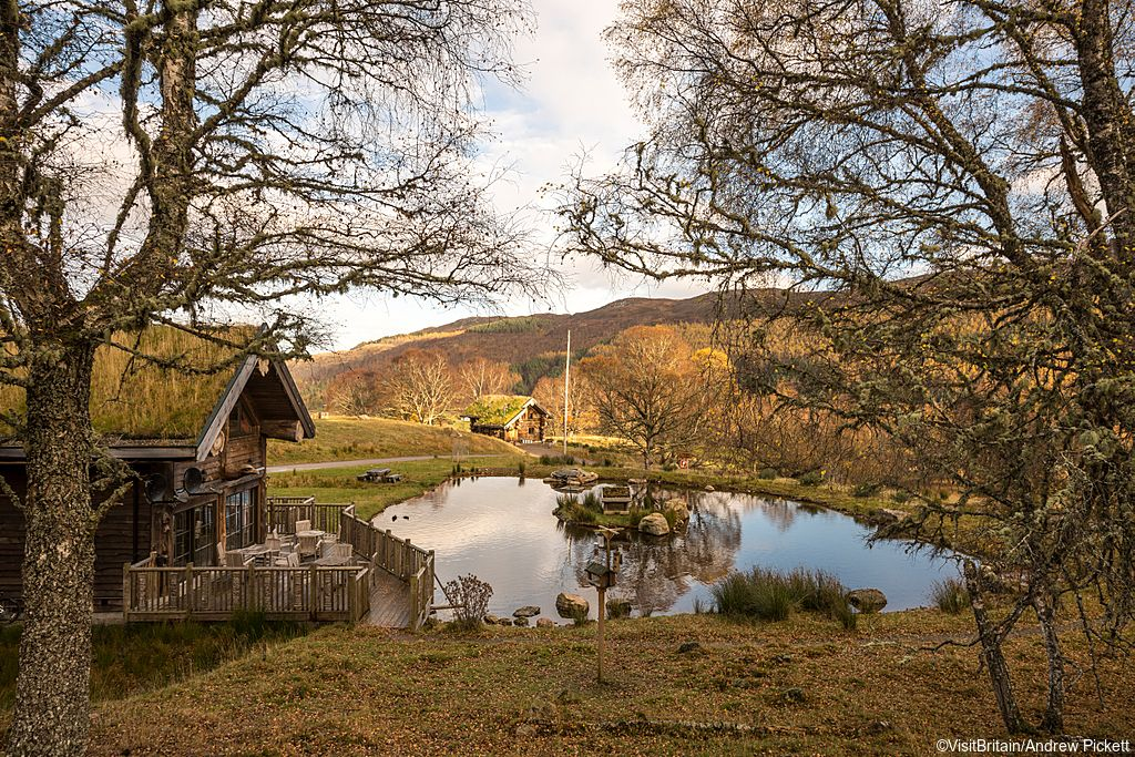 إقامة فاخر في الريف البريطاني الساحر سائح