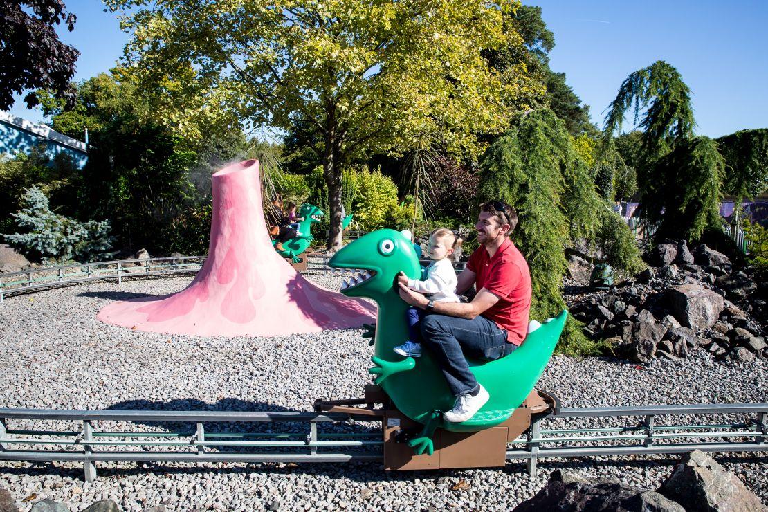 George's Dinosaur Adventure at Peppa Pig World
