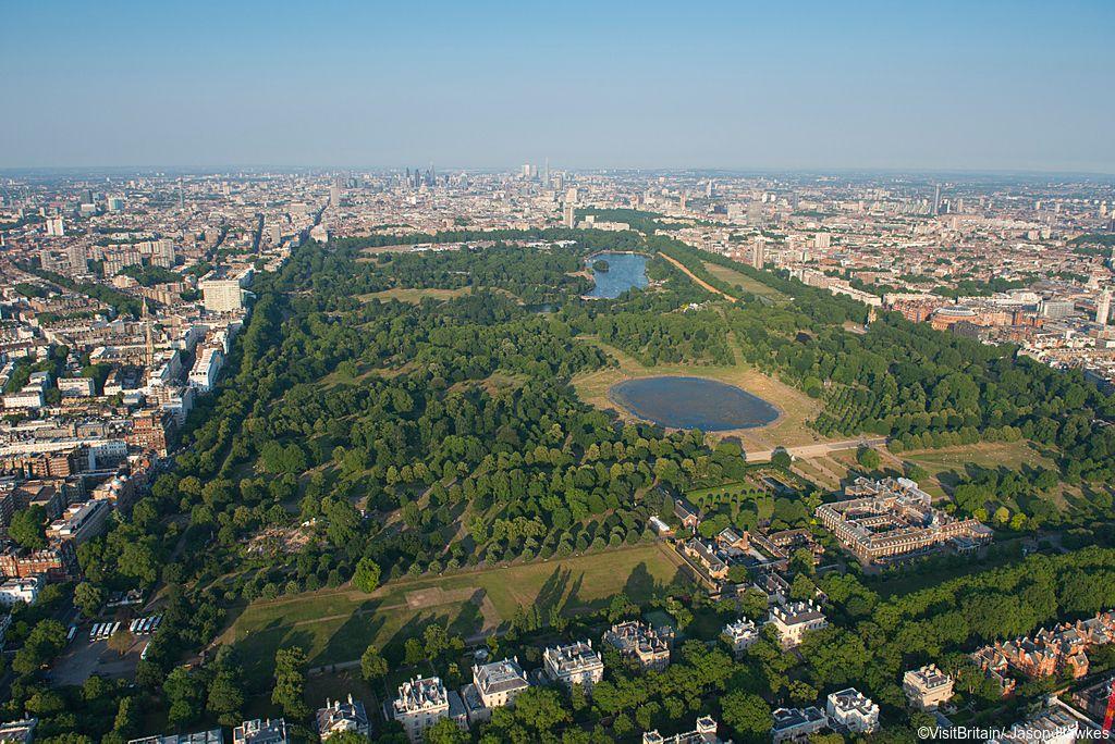 Kensington Gardens & Hyde Park