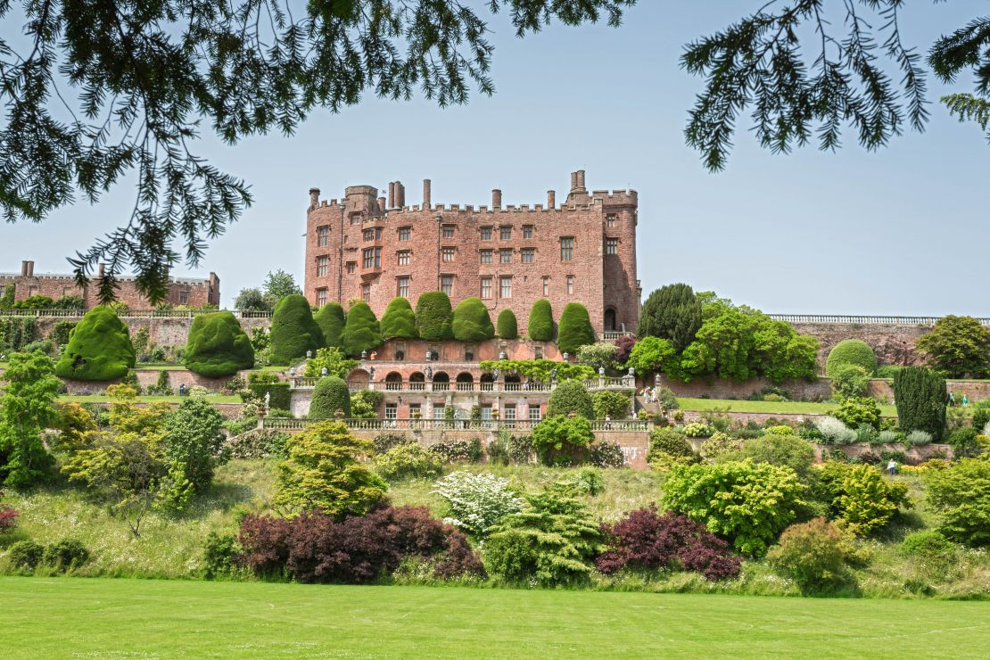 Powis Castle and Gardens, Welshpool, Powys, Wales