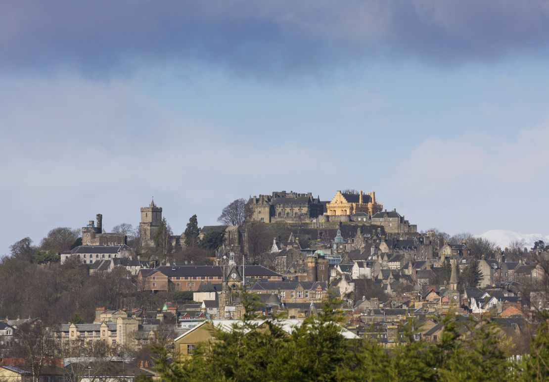 Stirling Castle is one of the largest and most important castles in Scotland