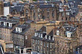 Rooftops of Edinburgh