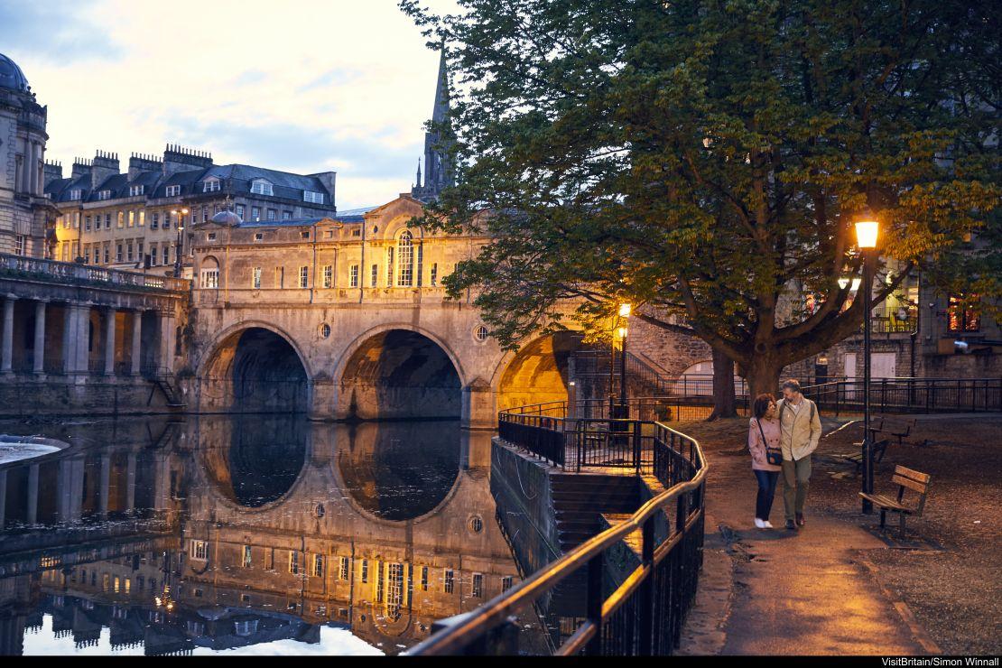 Bath città romantica