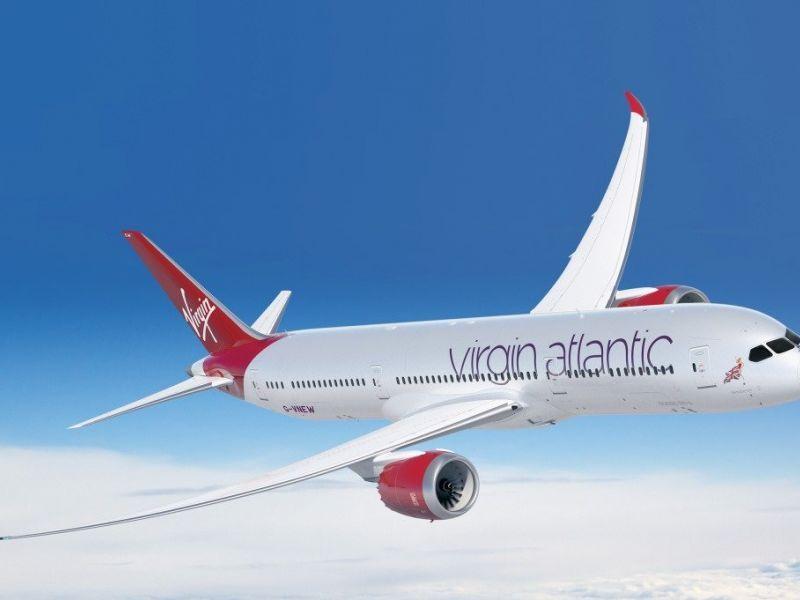 Novos voos Virgin Atlantics