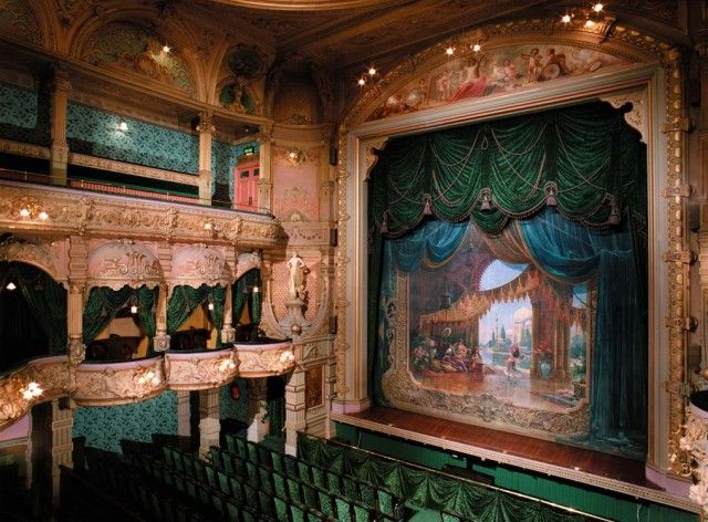 Gaiety Theatre Act Drop