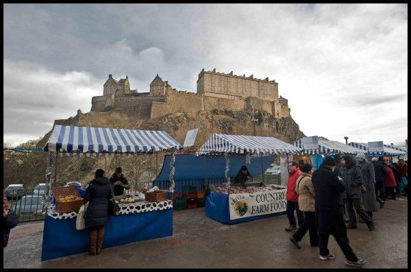 Edinburgh's farmers' market