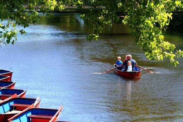 Wansbeck River Morpeth - photo by Zoe Dawes