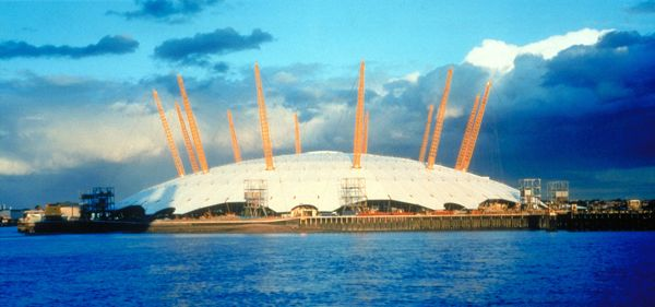 The O2 in Greenwich