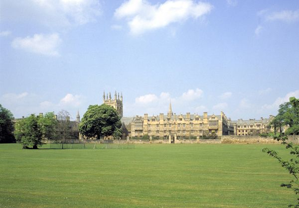 Christ Church and meadow