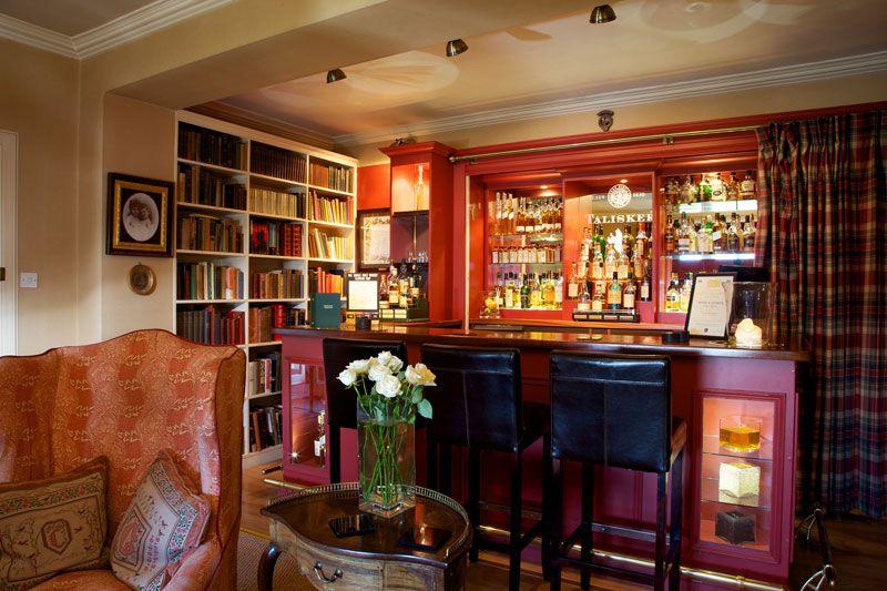 Kinloch Lodge whisky bar