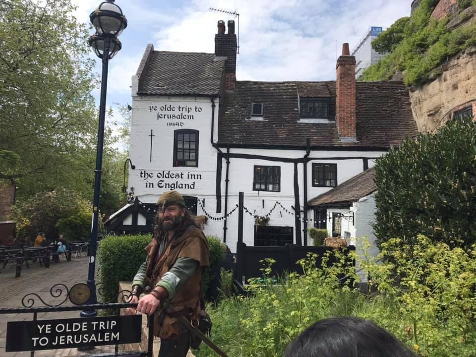 Ye Olde Trip To Jerusalem pub in Nottingham
