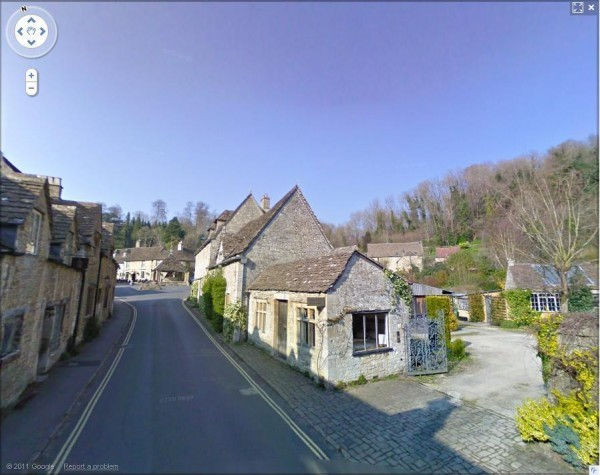 The Street, Castle Combe, Wiltshire - Google Street View