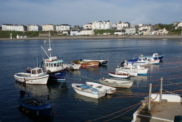Port Erin boats