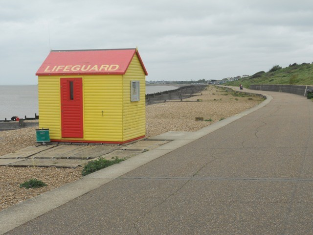 Beach hut near Whitstable, Kent