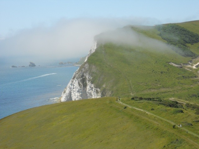 Along the Dorset Coast, near Lulworth