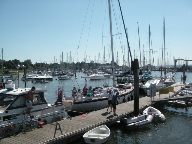 Lymington Harbour, Dorset