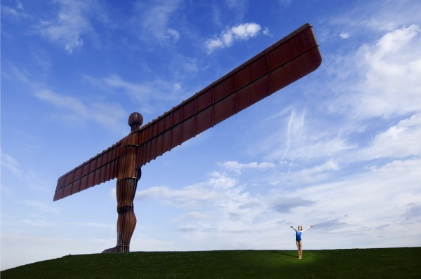 Angel of the North, near Newcastle