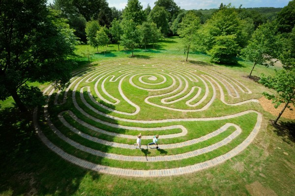 Wakehurst Labyrinth