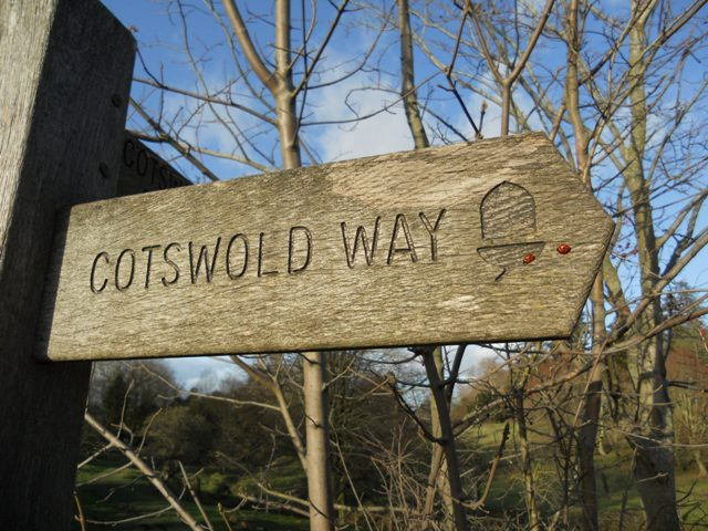 Cotswold Way - a popular way to see the best of the area