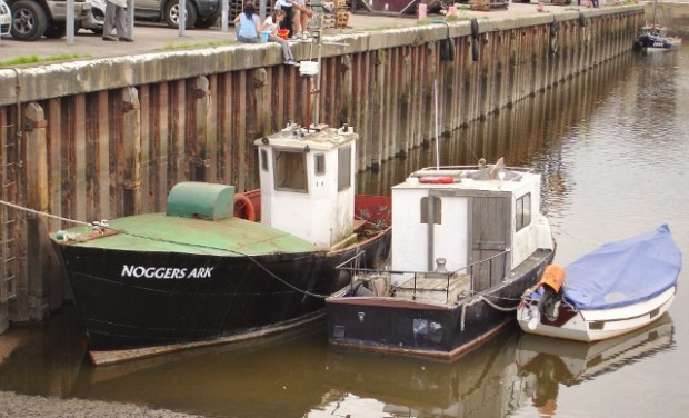 Glasson Dock boats
