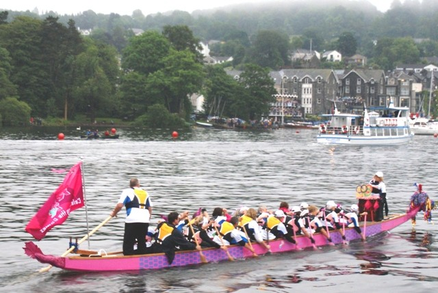 Dragon Boat - Bowness on Windermere