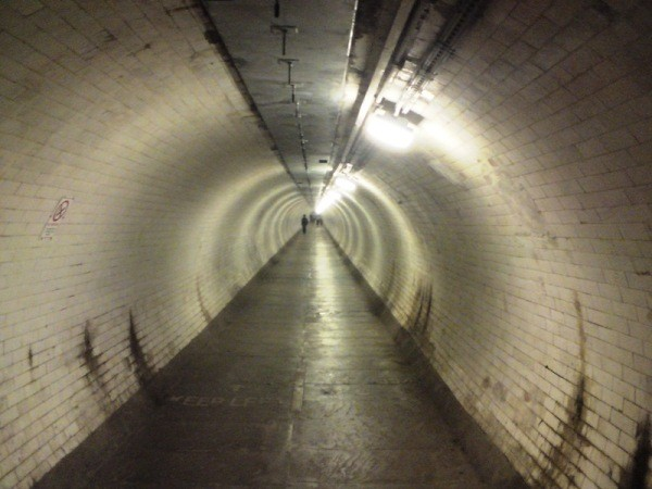 Under the Thames - the Greenwich Foot Tunnel