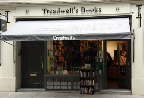 Treadwells Bookshop Front