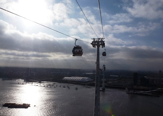 River Thames from Emirates Air Line