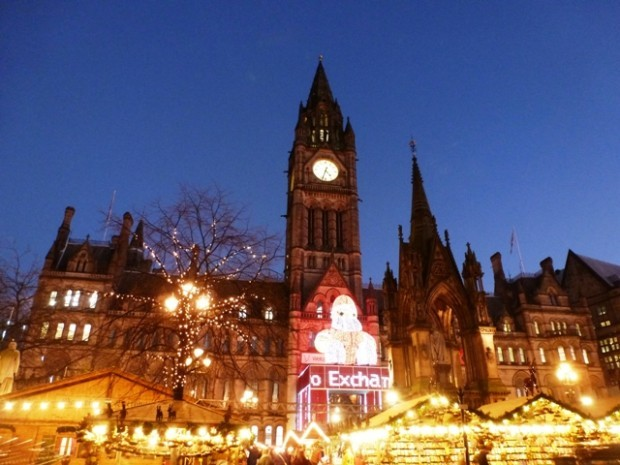 Christmas market - Manchester by Zoe Dawes